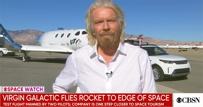 Richard Branson Breaking News