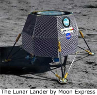 launch of the Lunar Lander scheduled for 2012