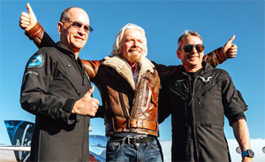Richard Branson and the Pilots